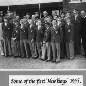 1955 - some of the first new boys