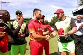 Ryan Burl Zimbabwe Cricket 2017
