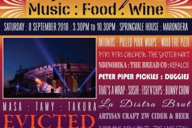 Music Food and Wine Festival Flyer 17072018