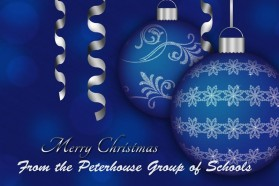Merry Christmas from the Peterhouse Group of Schools