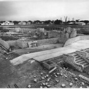 1954 - foundation - chapel foundations