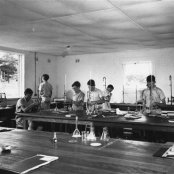 1957 - foundation - science block